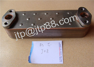 China Diesel engine parts DE08 Oil Cooler Cover/ Oil Cooler Core Warranty 1year fabriek